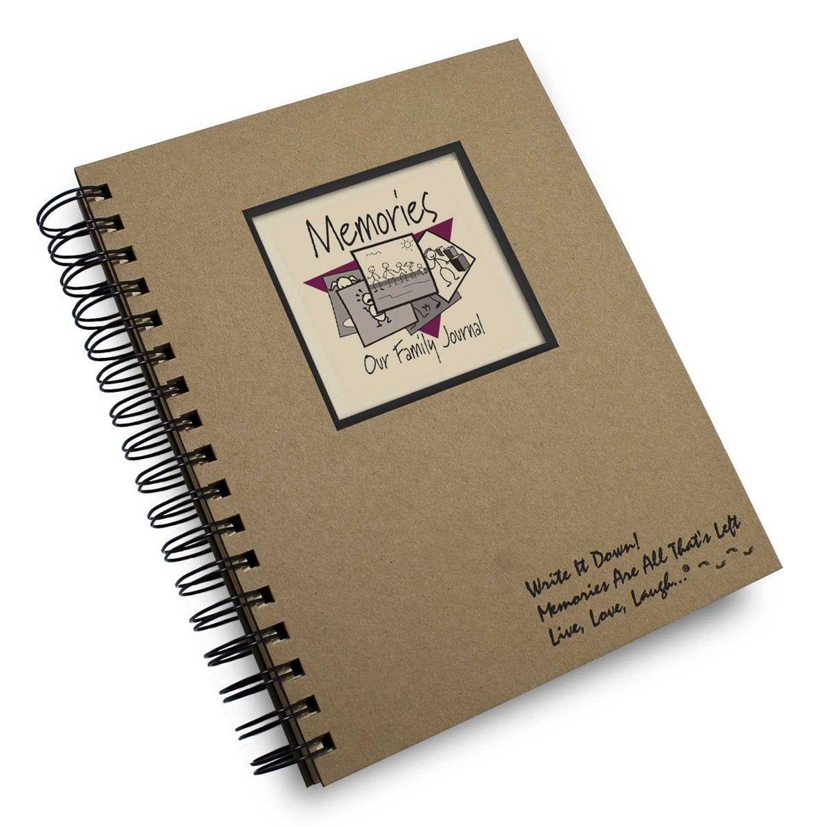Journals Unlimited Memories Full Size Journal - huggle
