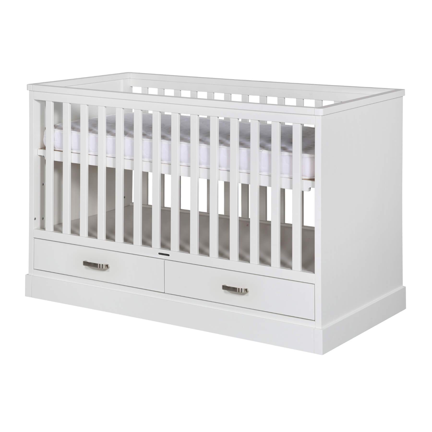 KIDSMILL Newport II Cot Bed - White