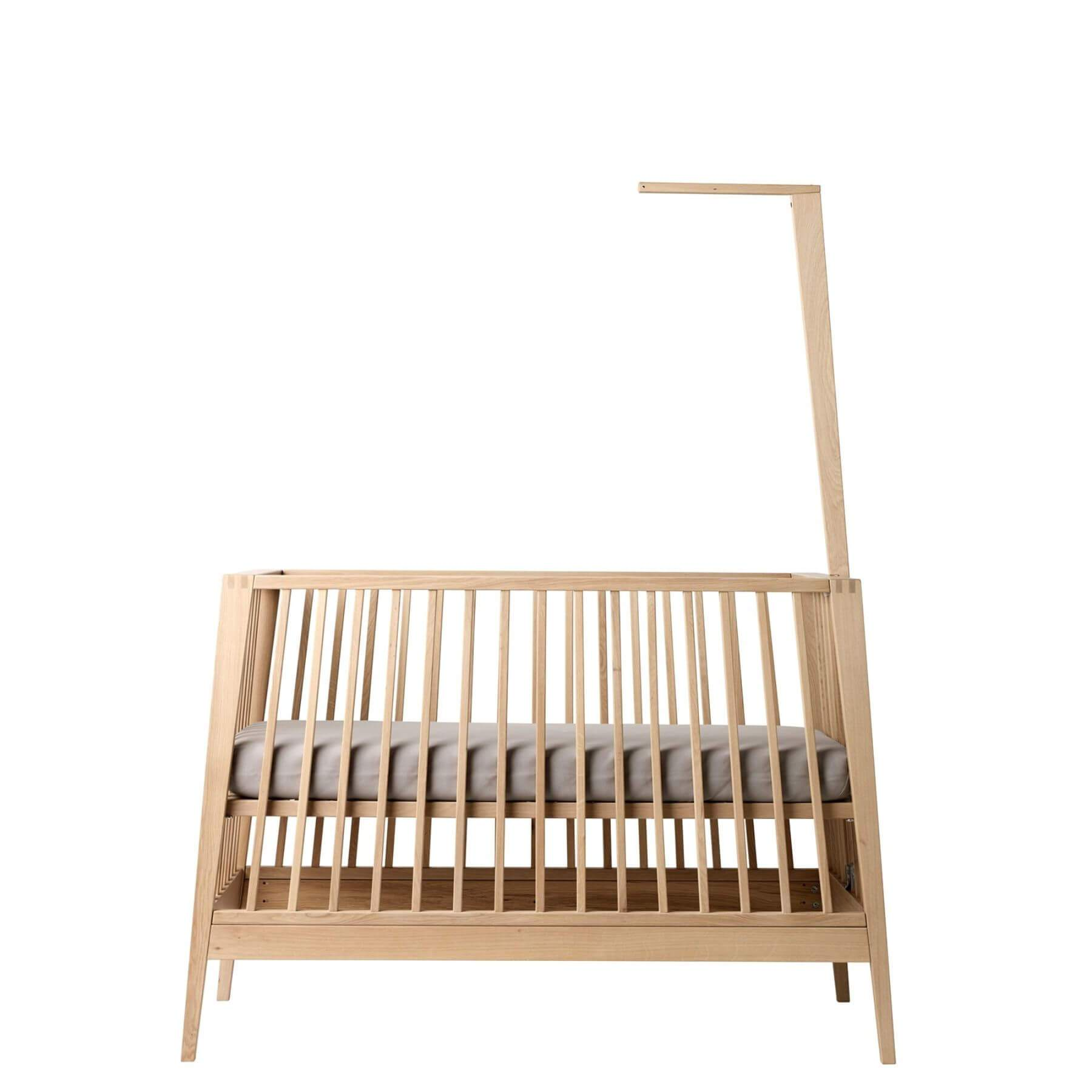 Leander Canopy Stick for Linea Baby Cot-Oak