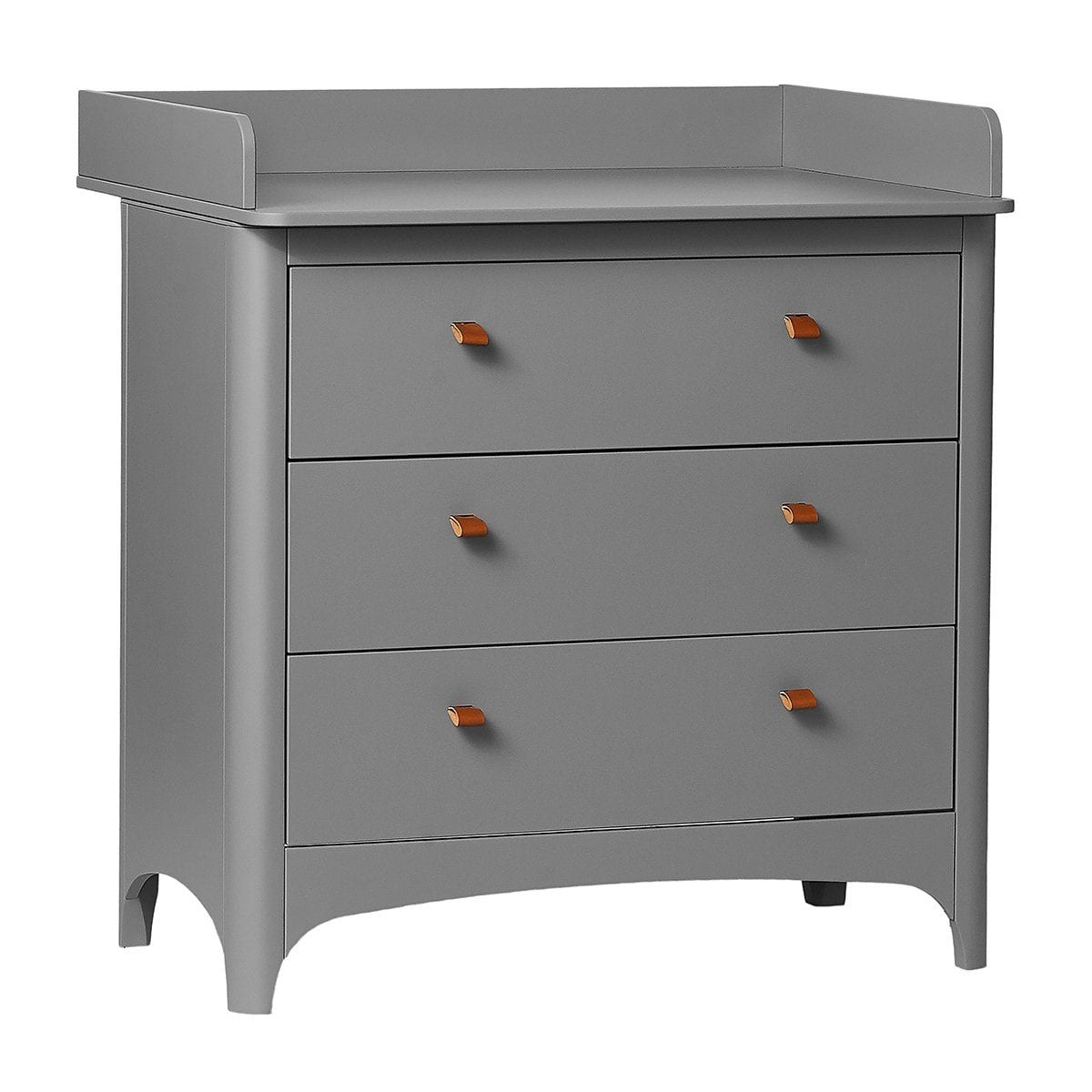 Leander Changing Unit for Classic Dresser - Grey