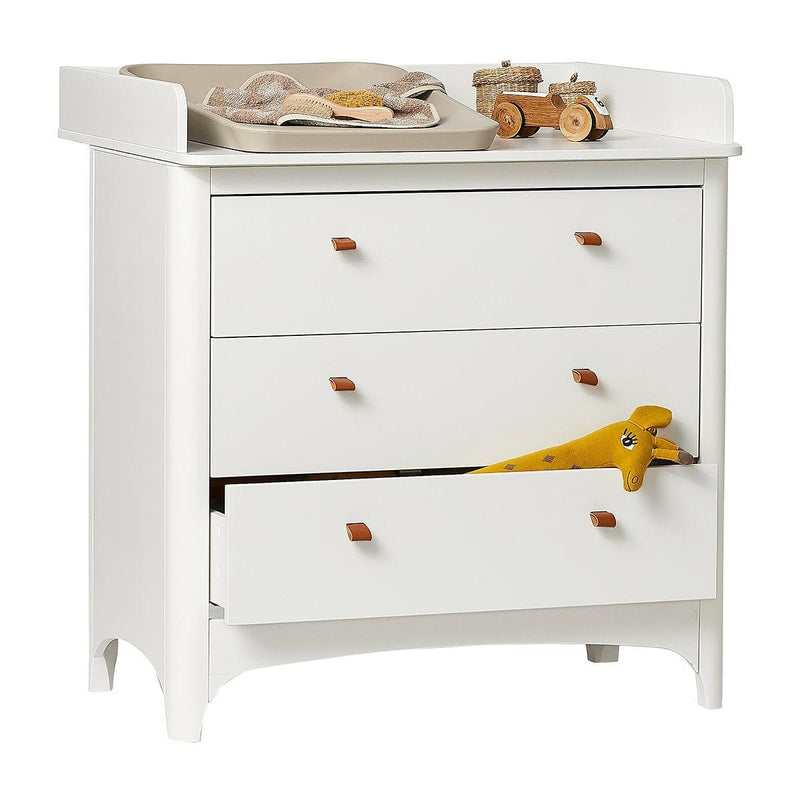 Leander Changing Unit for Classic Dresser - White