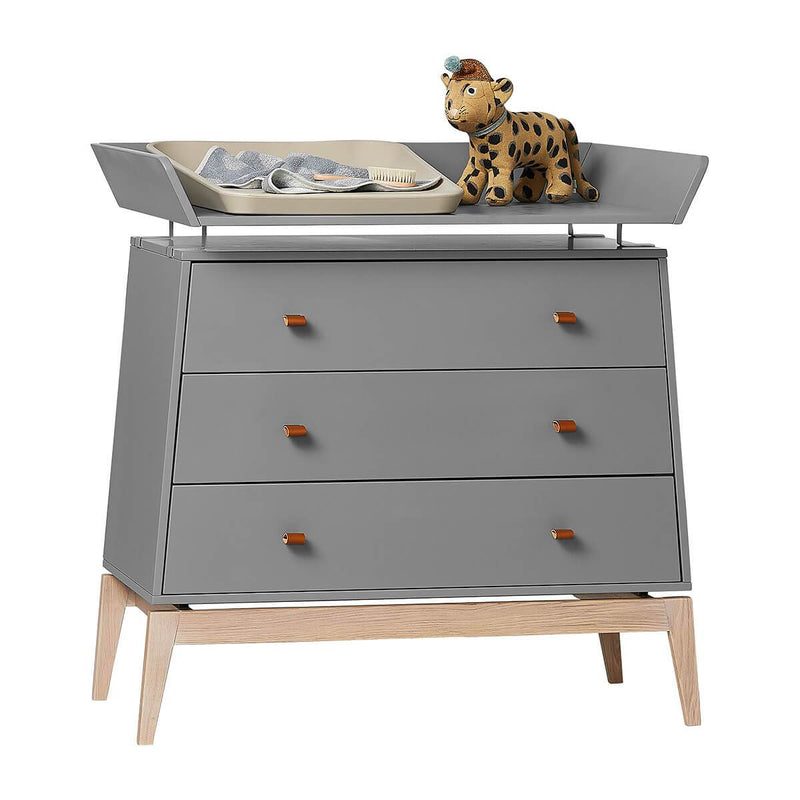 Leander Changing Unit for Luna Dresser - Grey