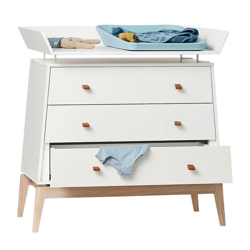 Leander Changing Unit for Luna Dresser - White
