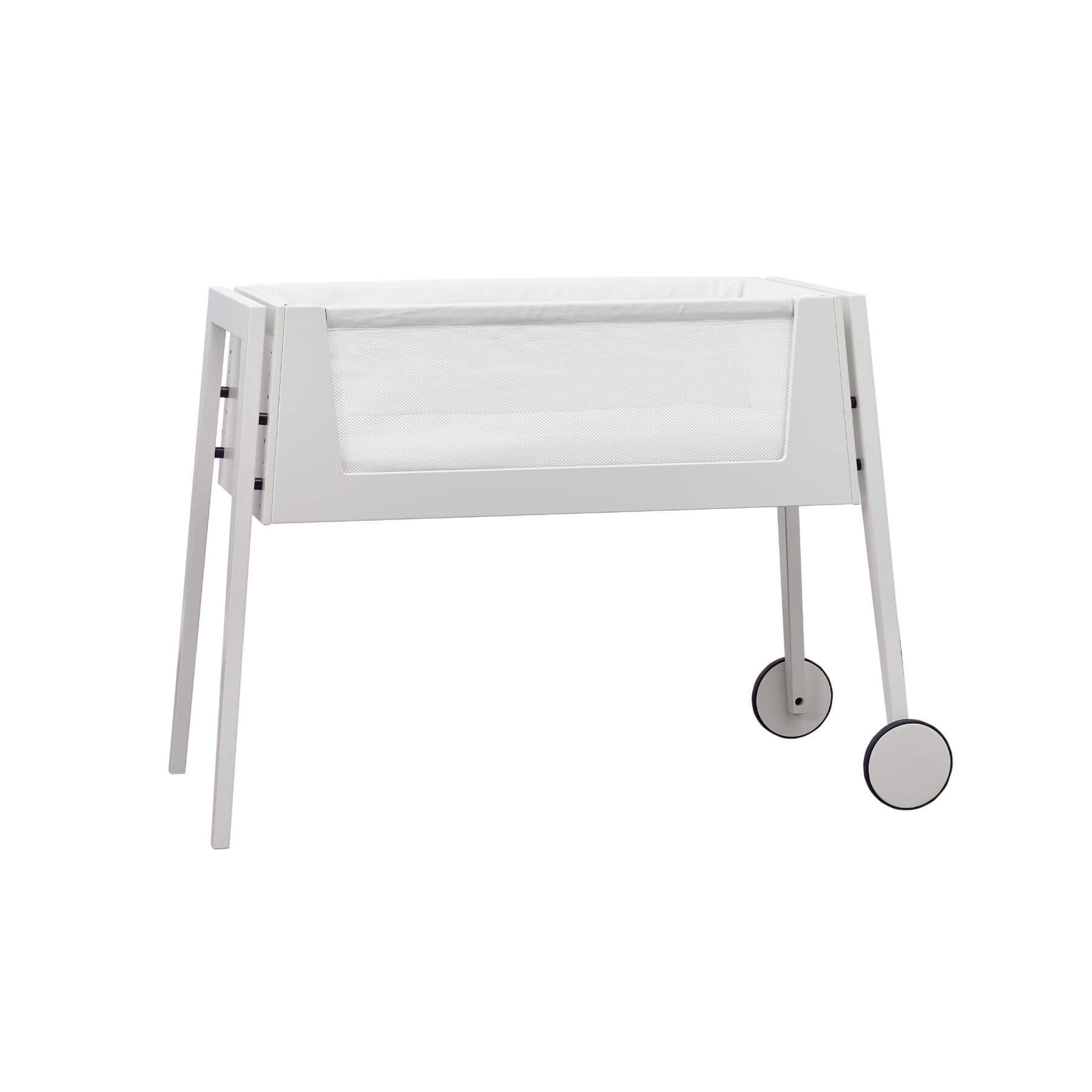 Leander Linea Side by Side Bed - White