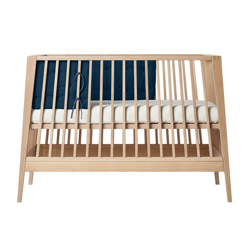Leander Linea/Luna Bumper for Baby Cot - Dark Blue