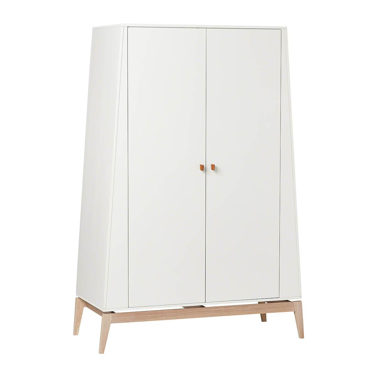 Leander Luna Wardrobe (large) - White/Oak