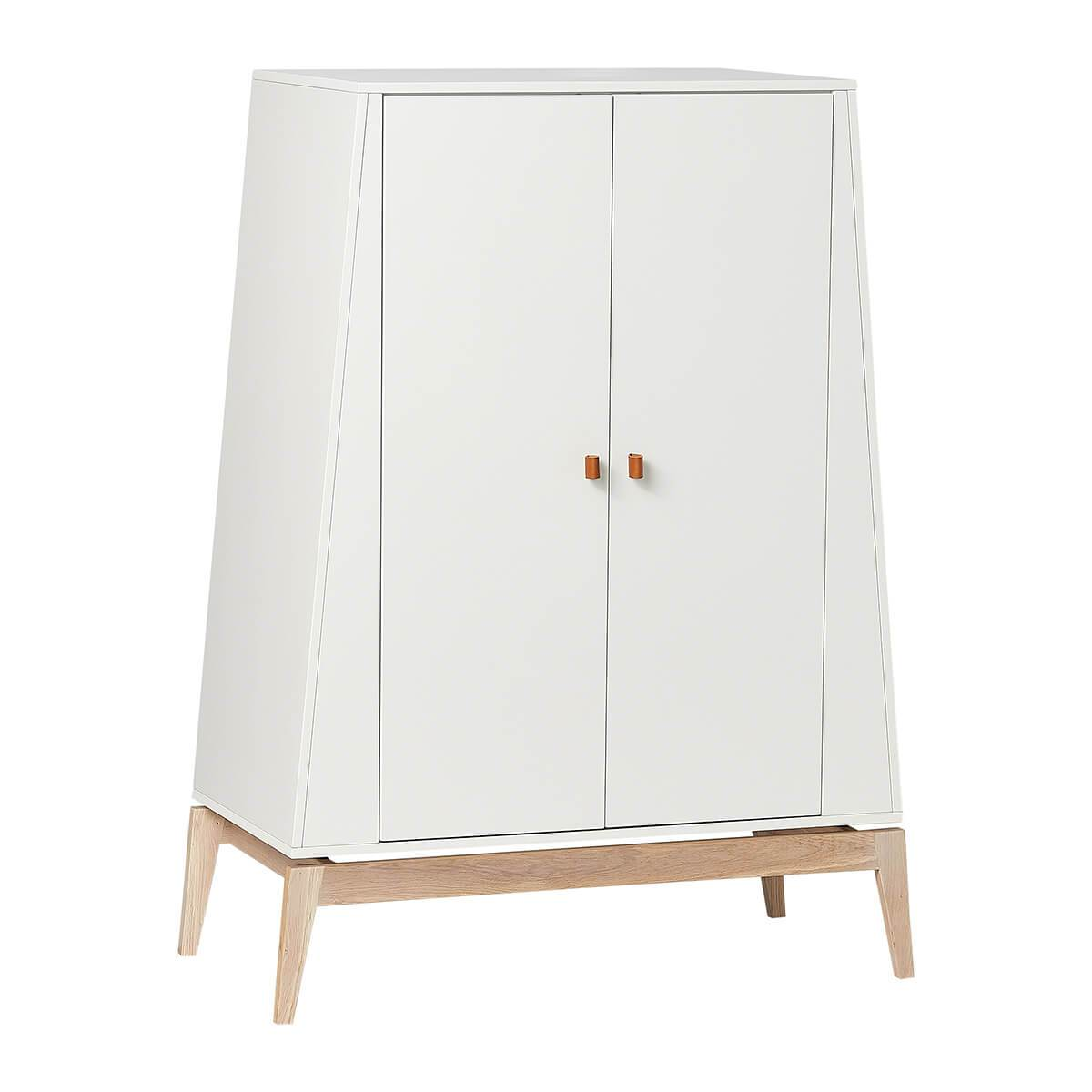 Leander Luna Wardrobe (small) - White/Oak