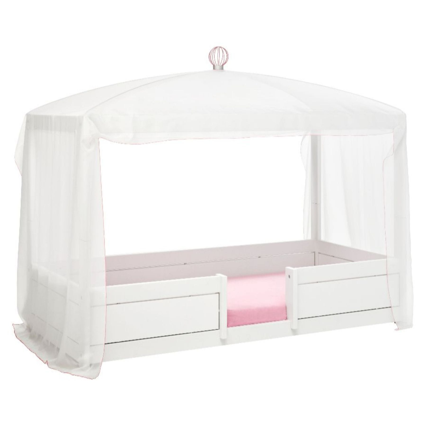 Lifetime 4 in 1 Bed - White/Pink