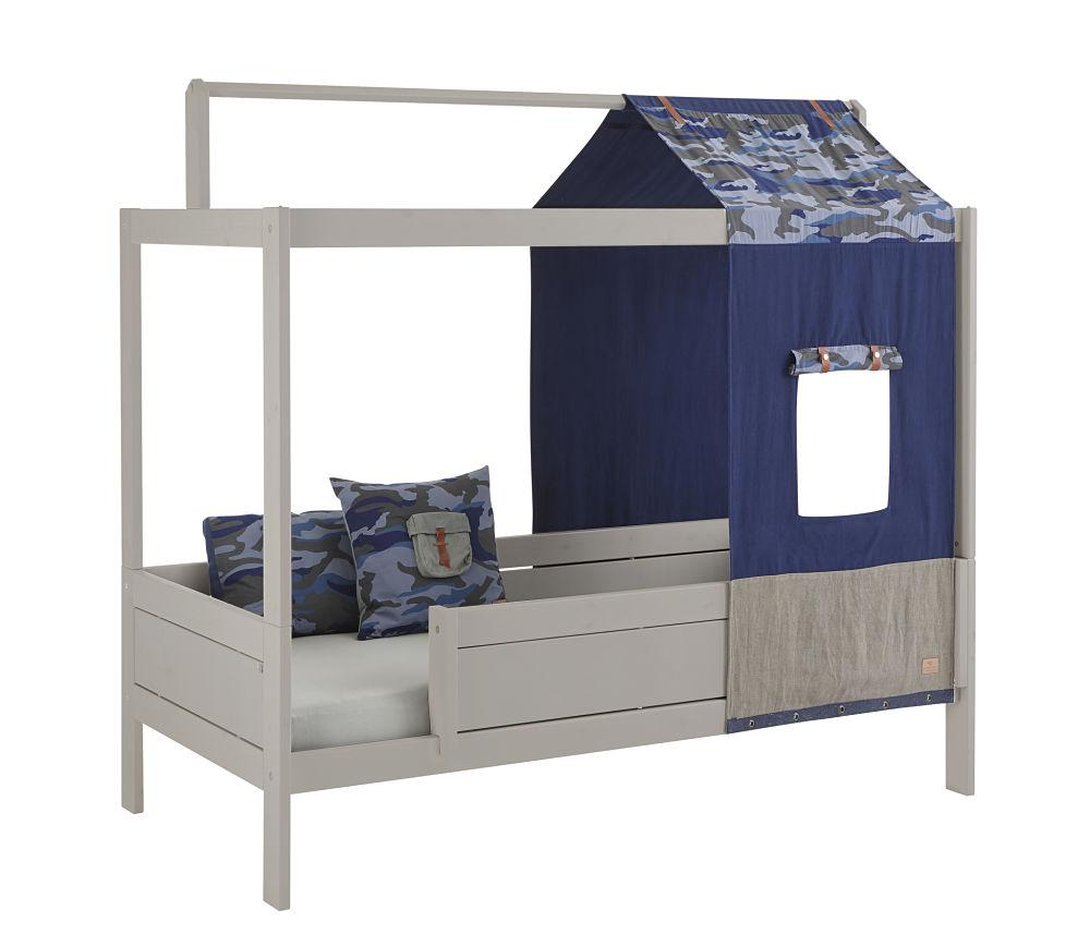 Lifetime Four Poster Bed with Blue Camo Tent