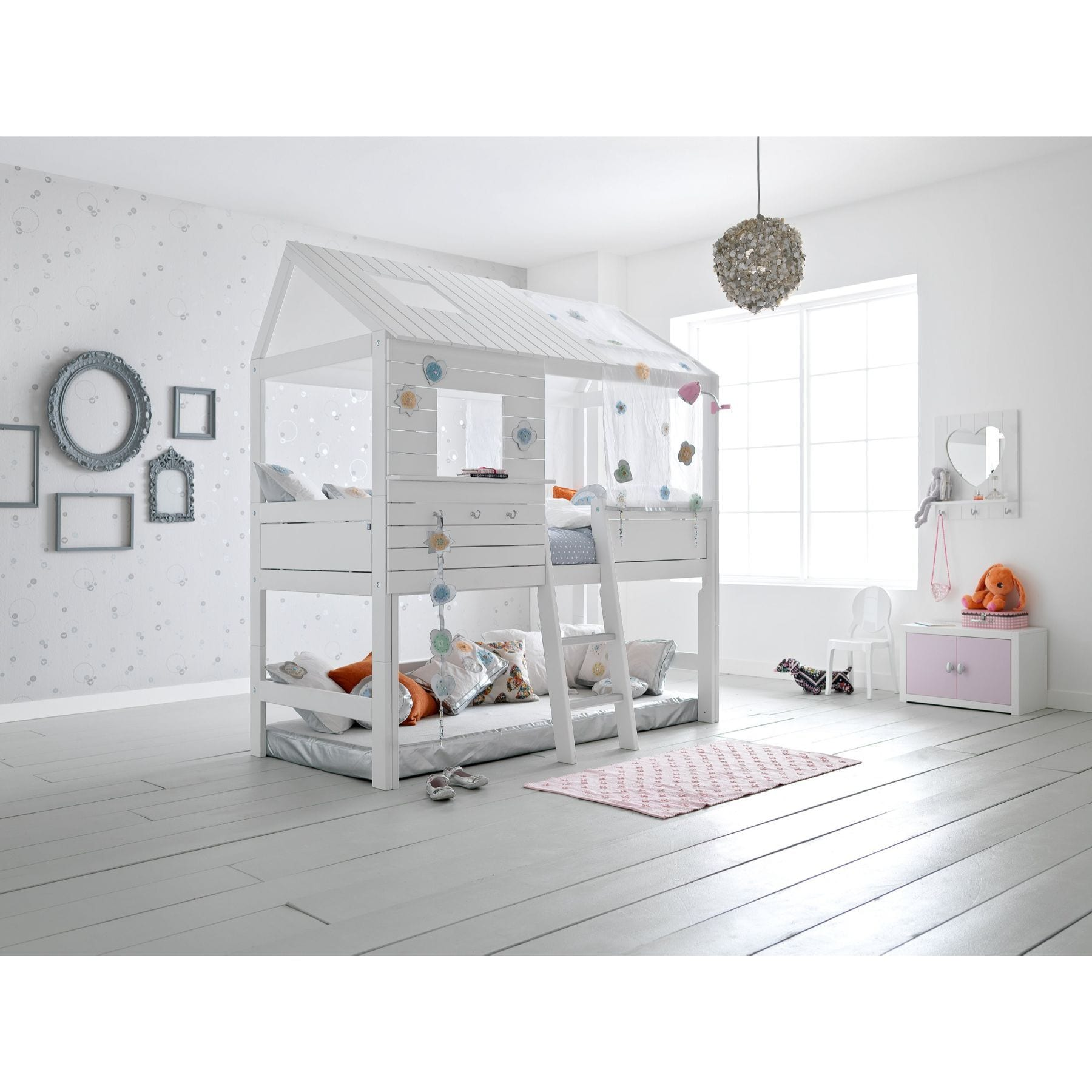 Lifetime Silversparkle Semi-High Hut Bed