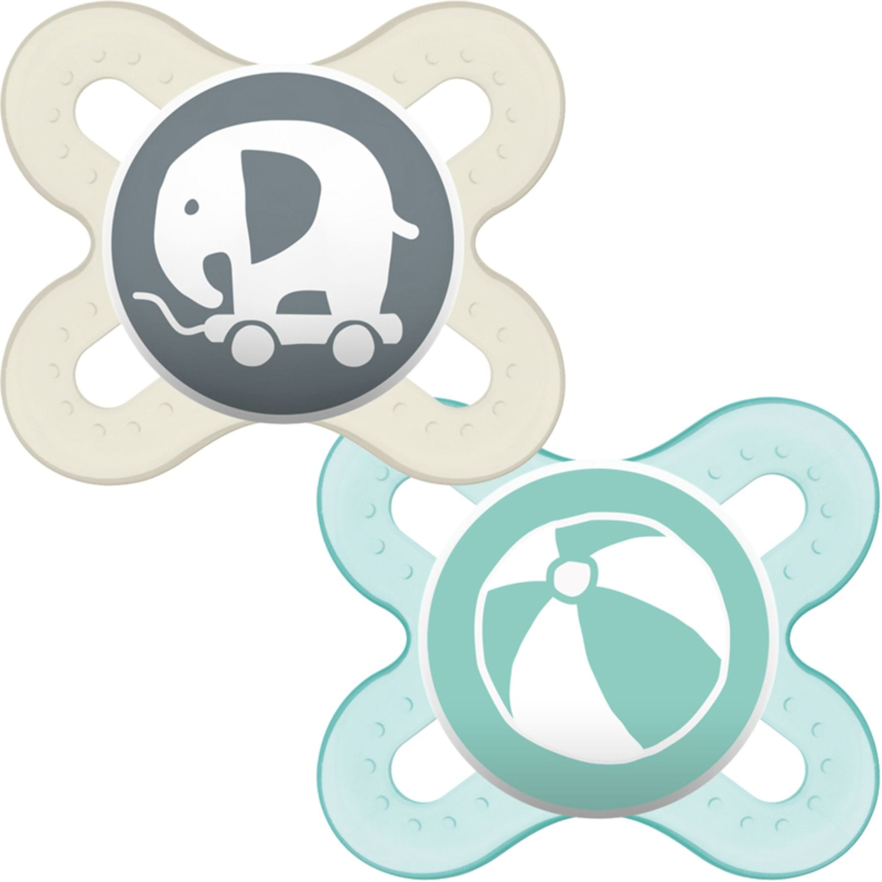 MAM 2 Pack Start Soother 0-2 months
