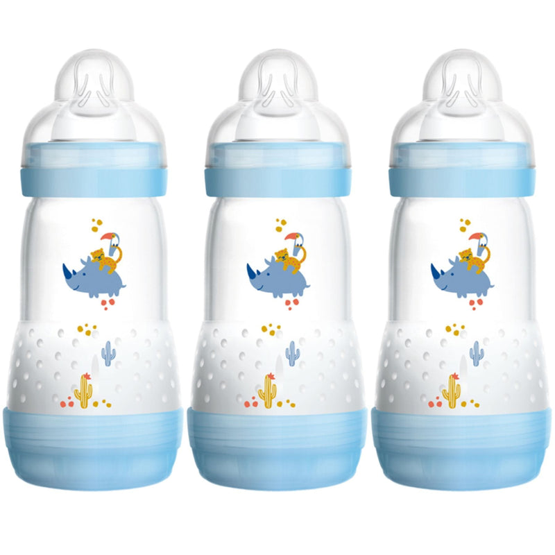 MAM 260ml Anti-Colic Bottle Pack (3 pack)