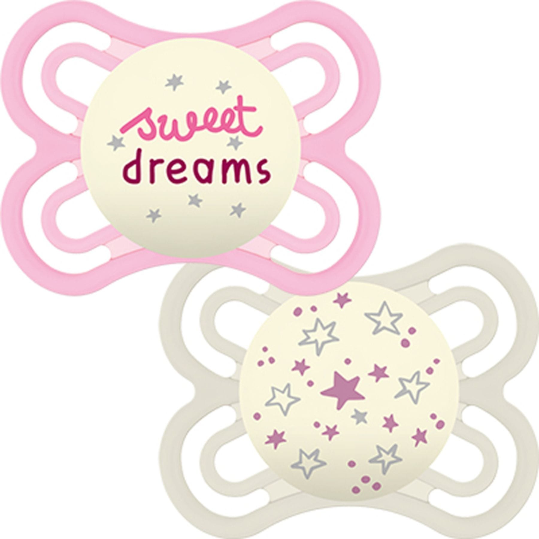 MAM Perfect Night Soother - Pink