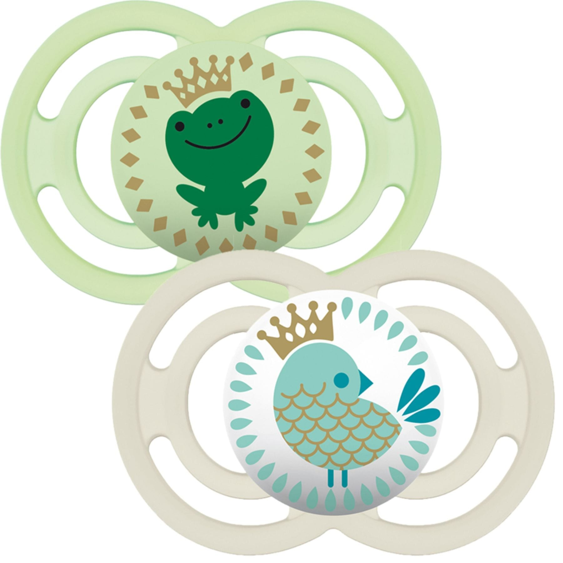 MAM Perfect Soother 2-Pack - Green Feeding MAM