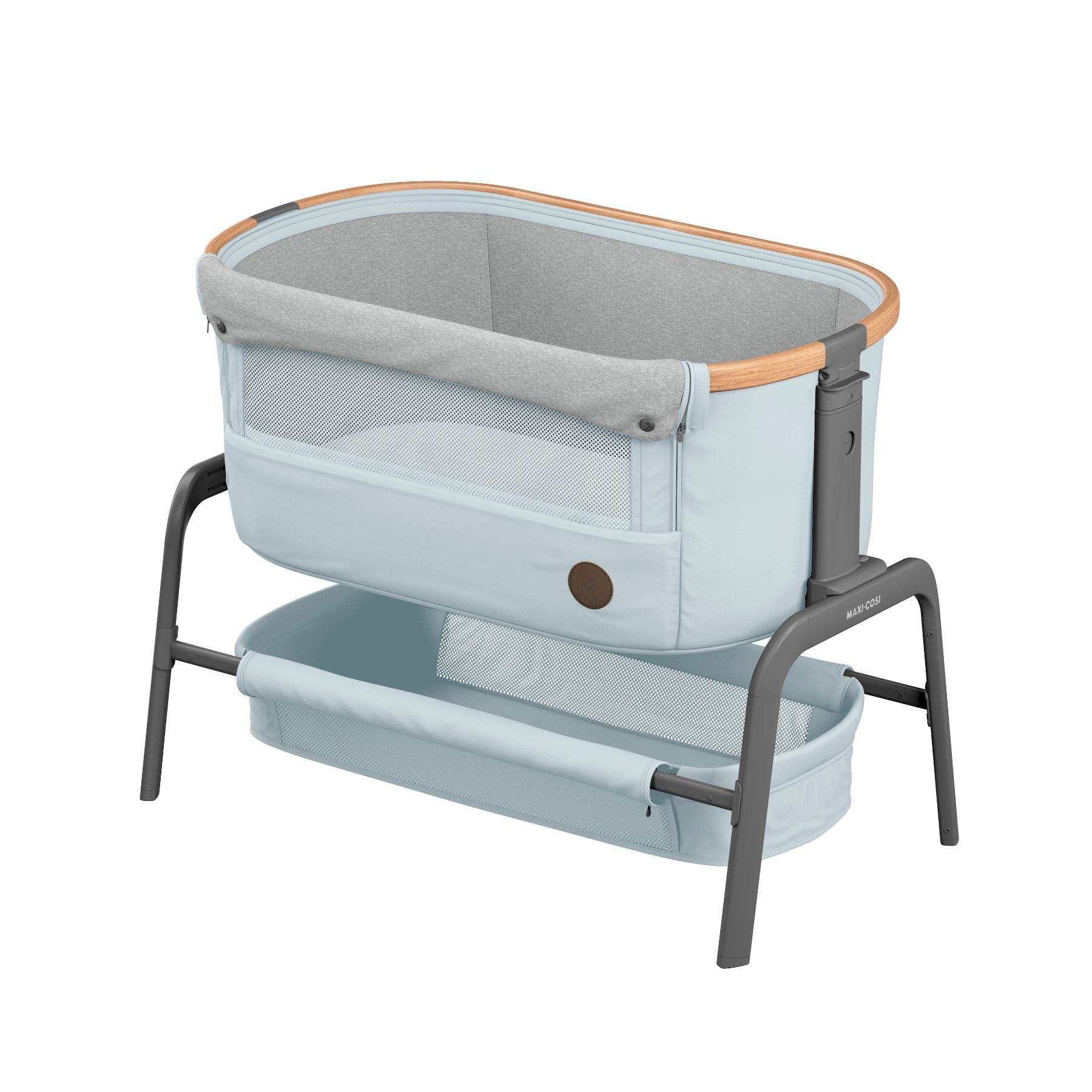 Maxi Cosi Iora Co-Sleeper - Essential Grey Gear Maxi Cosi