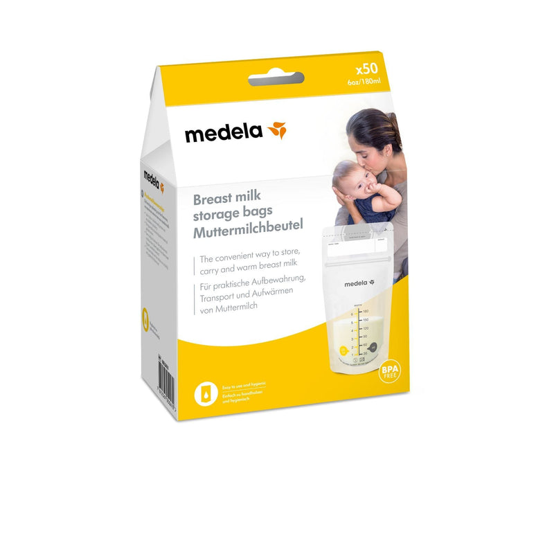 Medela Breastmilk Storage Bags - 50 Pack