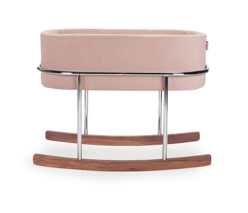 Monte Design Rockwell Bassinet - Blush