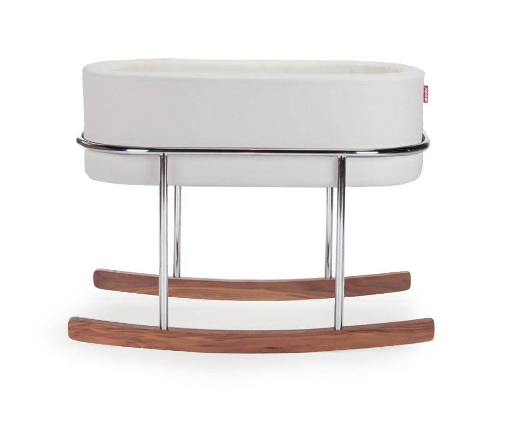 Monte Design Rockwell Bassinet - White