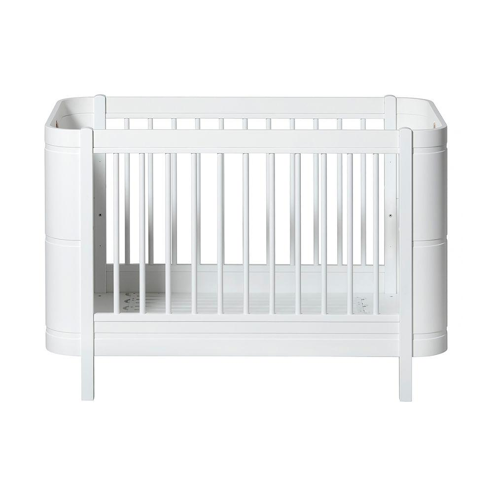 Oliver Furniture Wood Collection Cot Bed Mini+ White