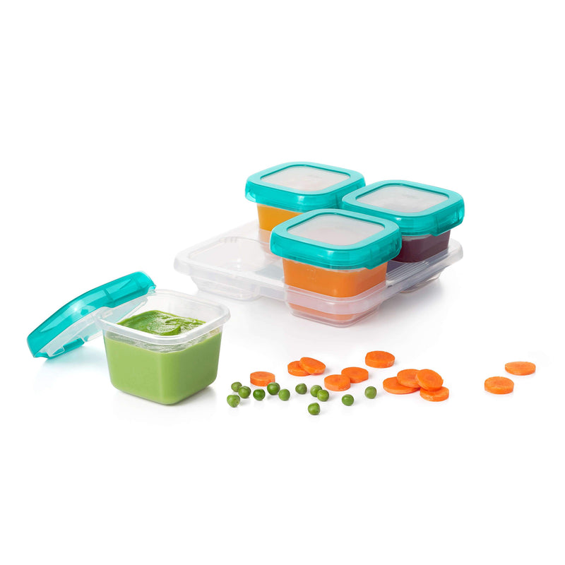 OXO TOT Blocks Freezer Storage Containers - Teal