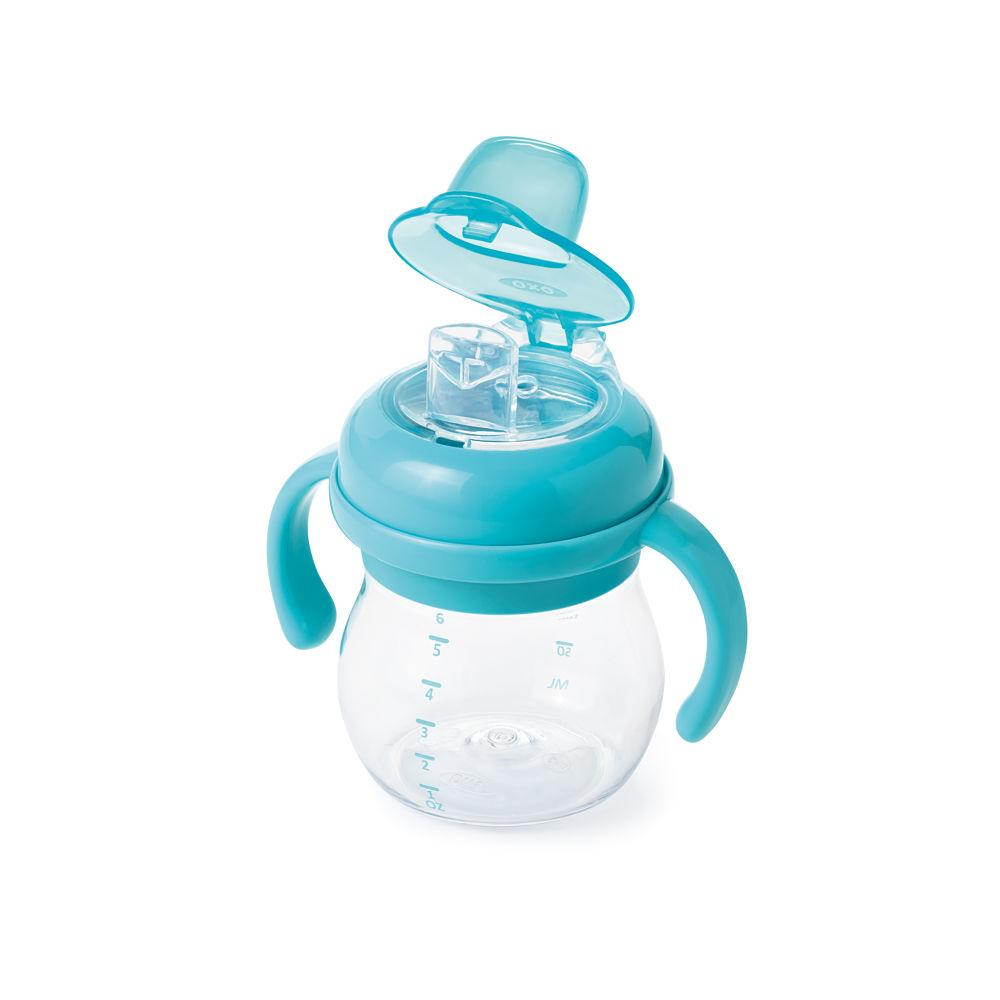 OXO TOT Soft Spout Sippy Cup With Handles - huggle