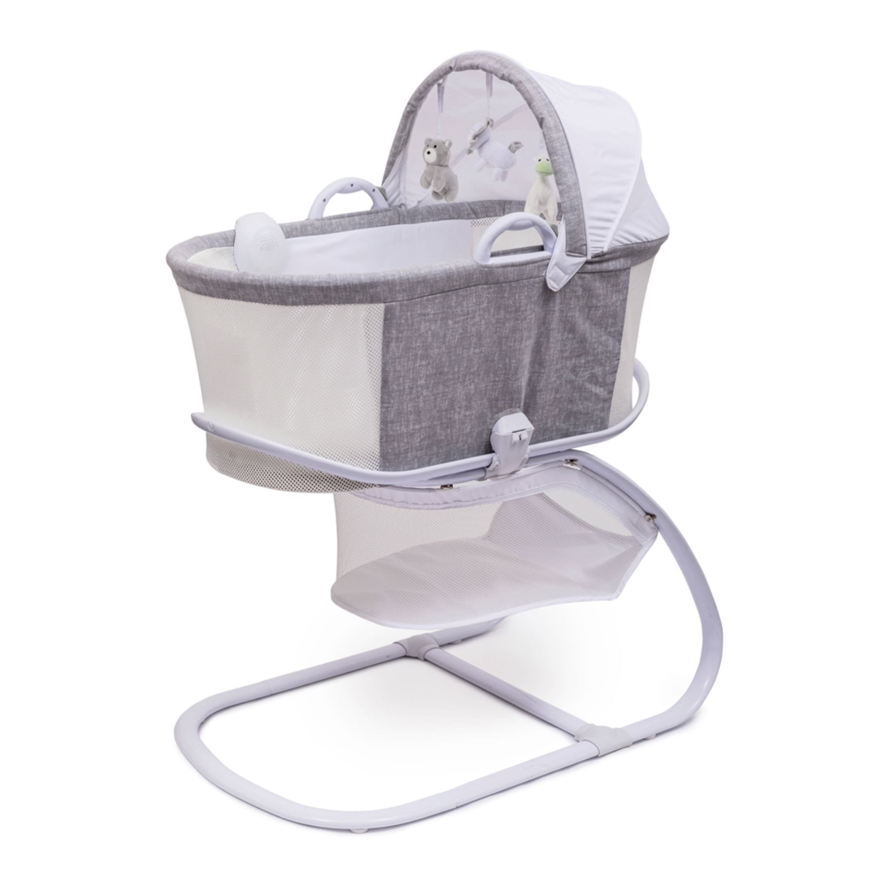 Purflo Breathable Bassinet - Marl Grey