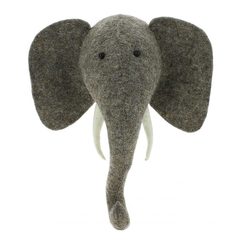 Scandi Chic Mini Elephant Head