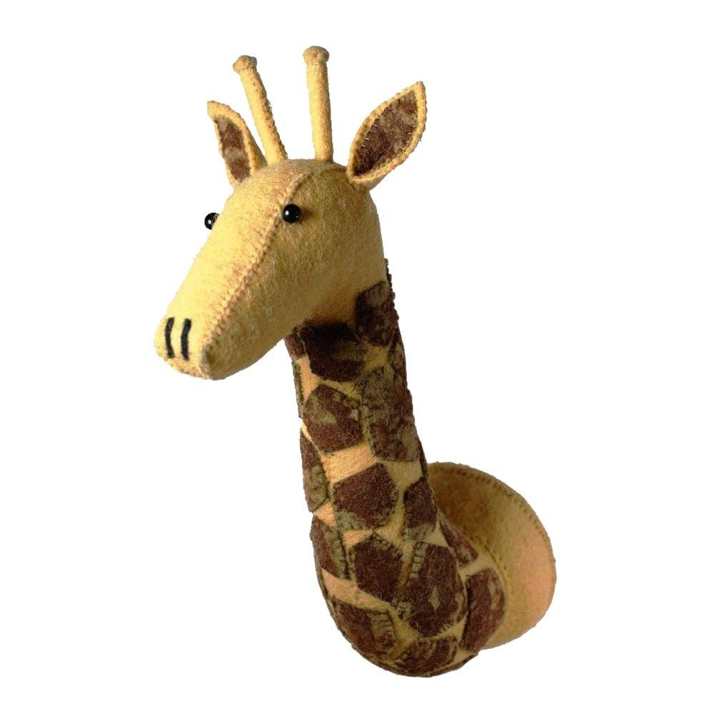 Scandi Chic Mini Giraffe Head