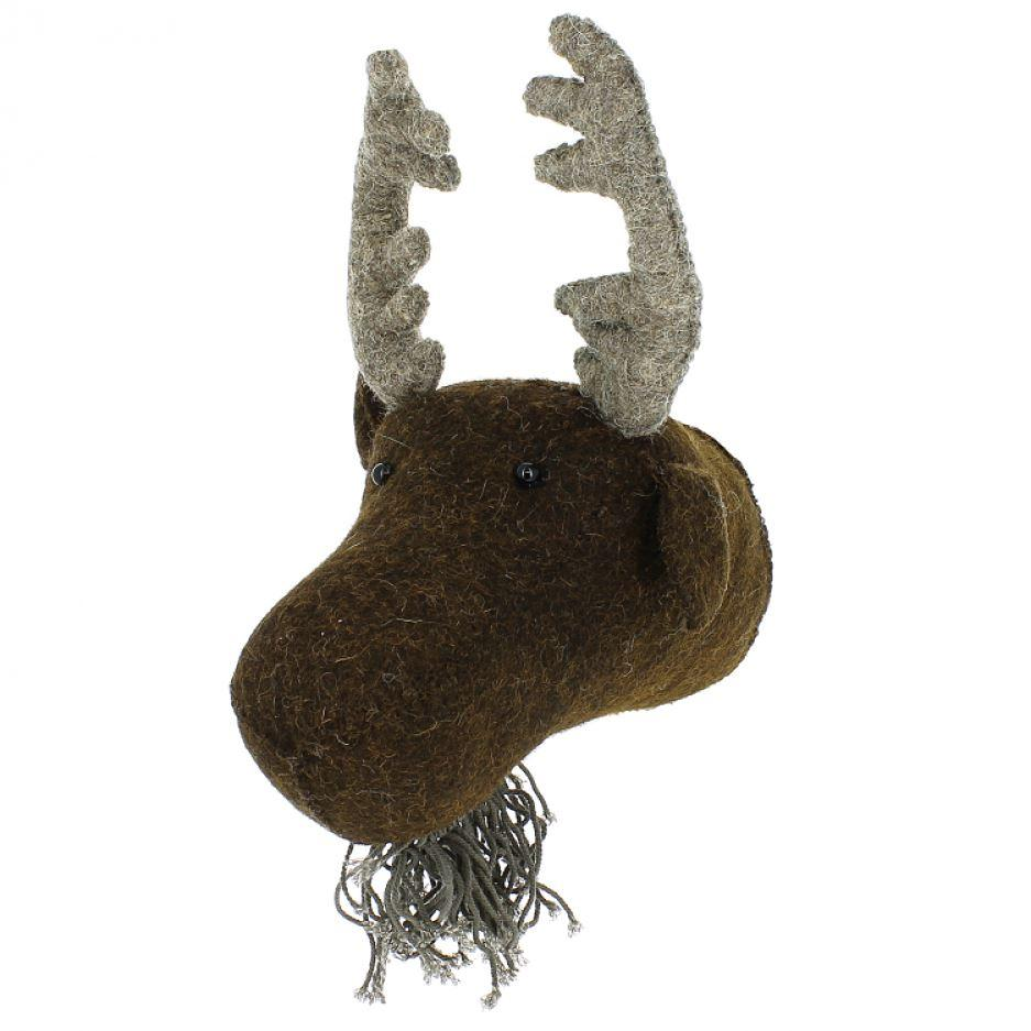 Scandi Chic Mini Moose Head
