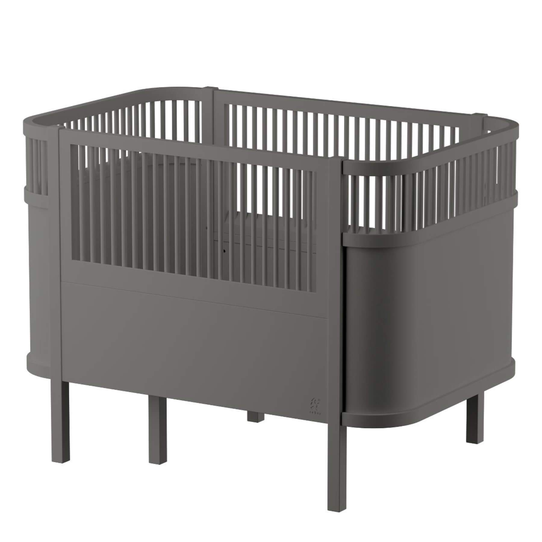 Sebra Baby & Junior Bed - Classic Grey