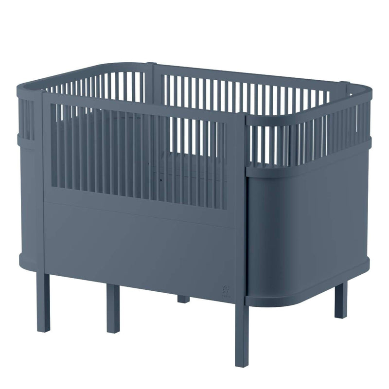 Sebra Baby & Junior Bed - Forest Lake Blue