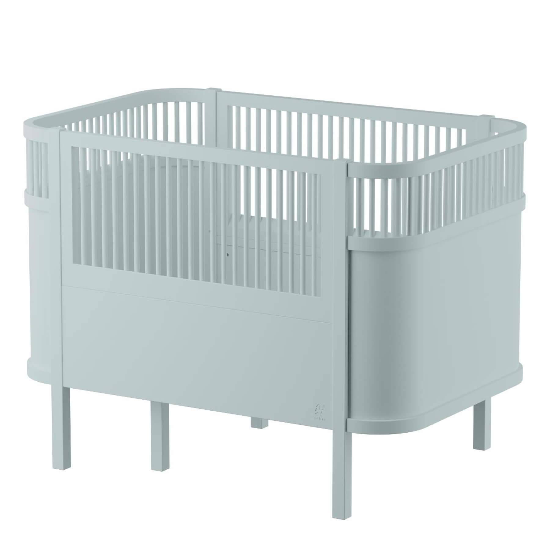 Sebra Baby & Junior Bed - Mist Green