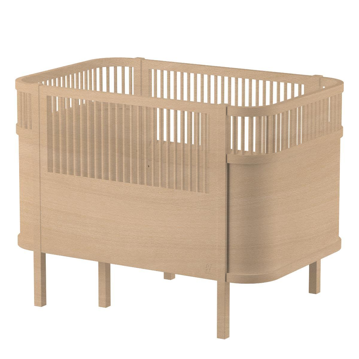 Sebra Baby & Junior Bed - Wooden Edition