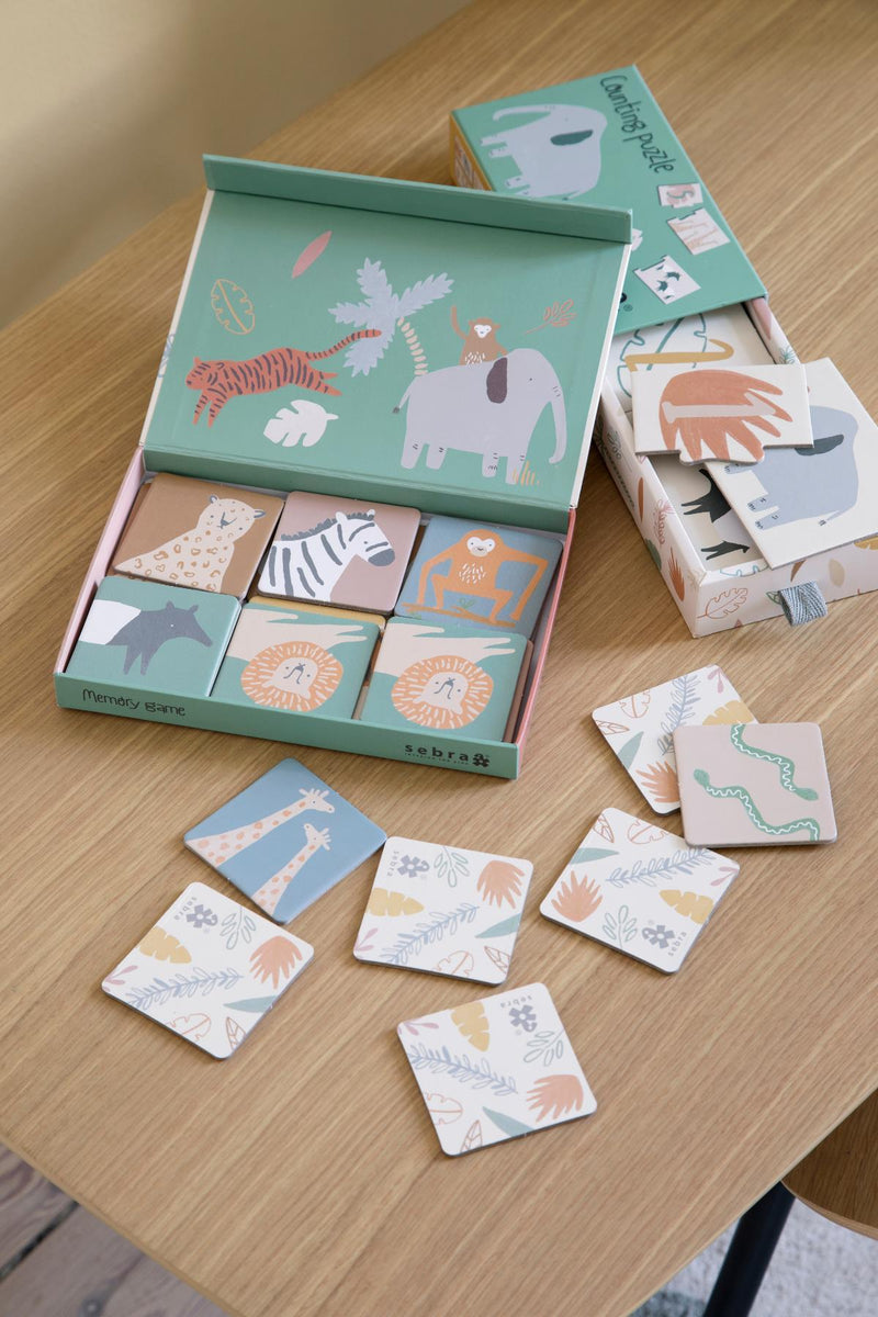Sebra Counting Puzzle 1-10 - Wildlife