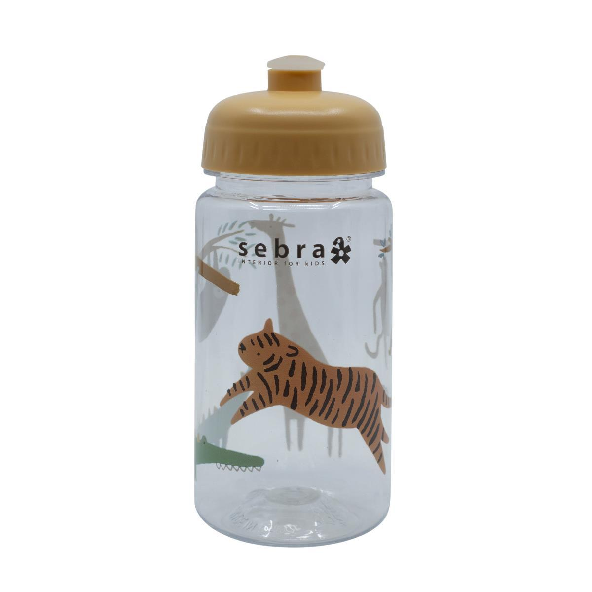 Sebra Drinking Bottle - Wildlife 500ml