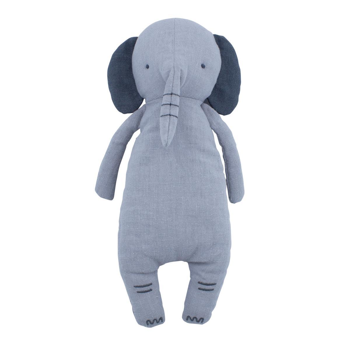 Sebra Linen Stuffed Toy - Finley The Elephant