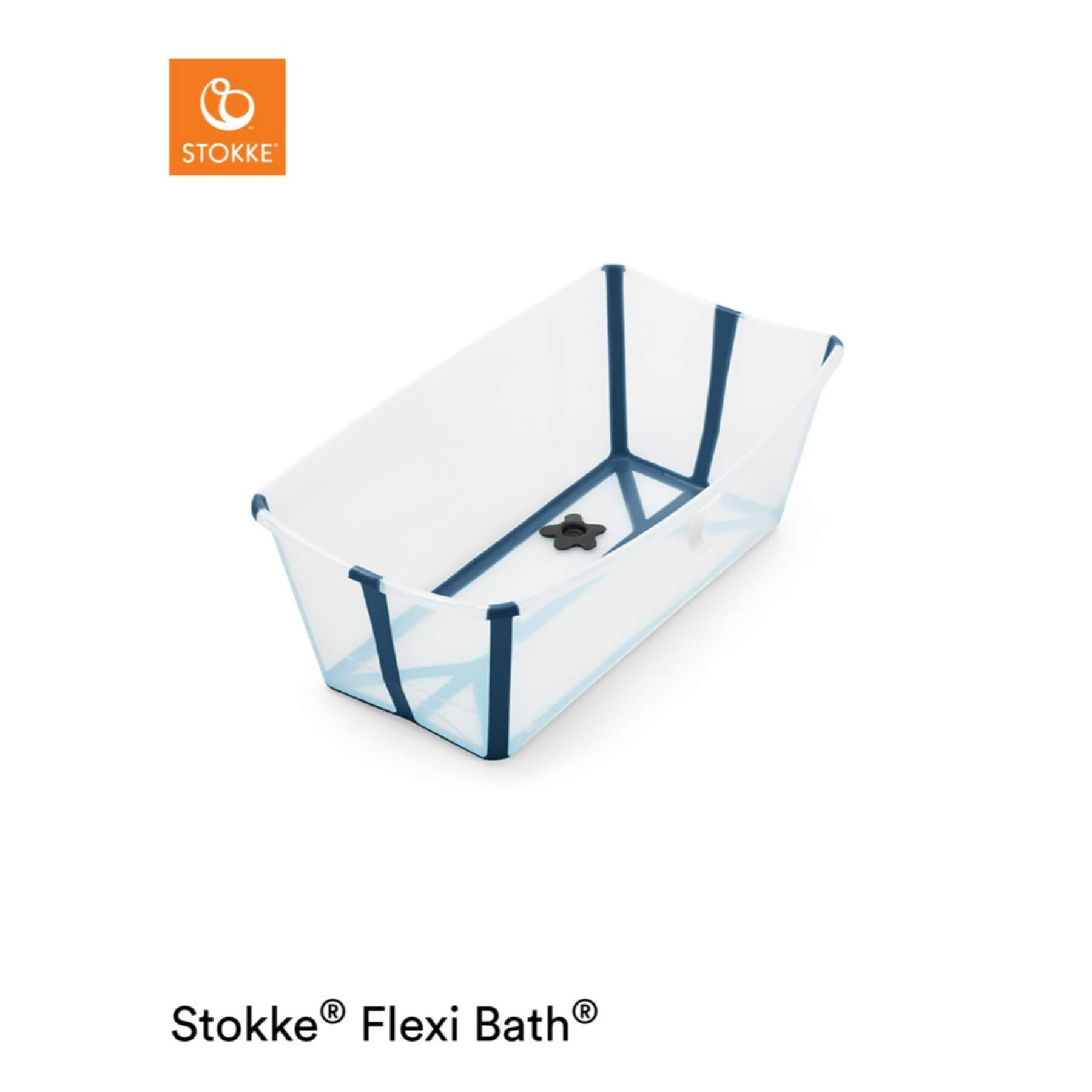 Stokke Flexibath - Transparent Blue