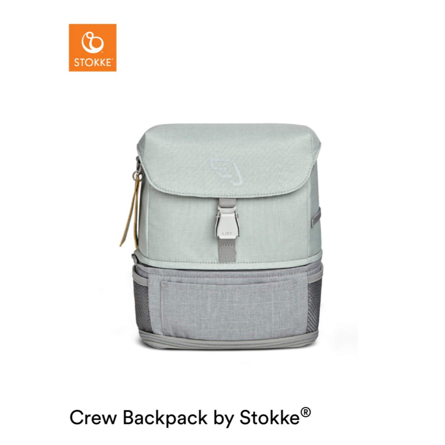 Stokke Jetkids Crew Backpack - Green Aurora