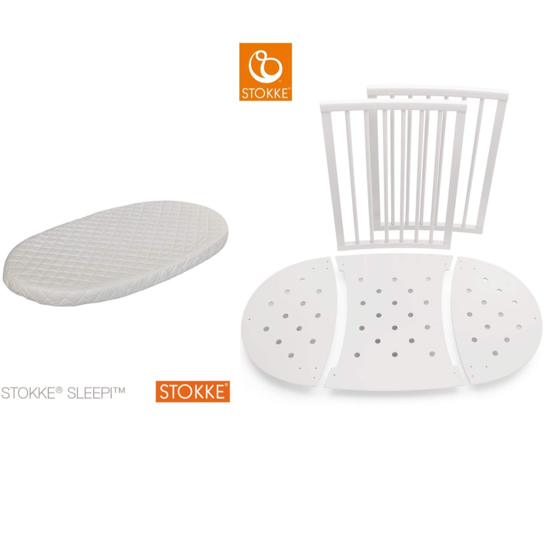 Stokke Sleepi Bed Extension and Mattress