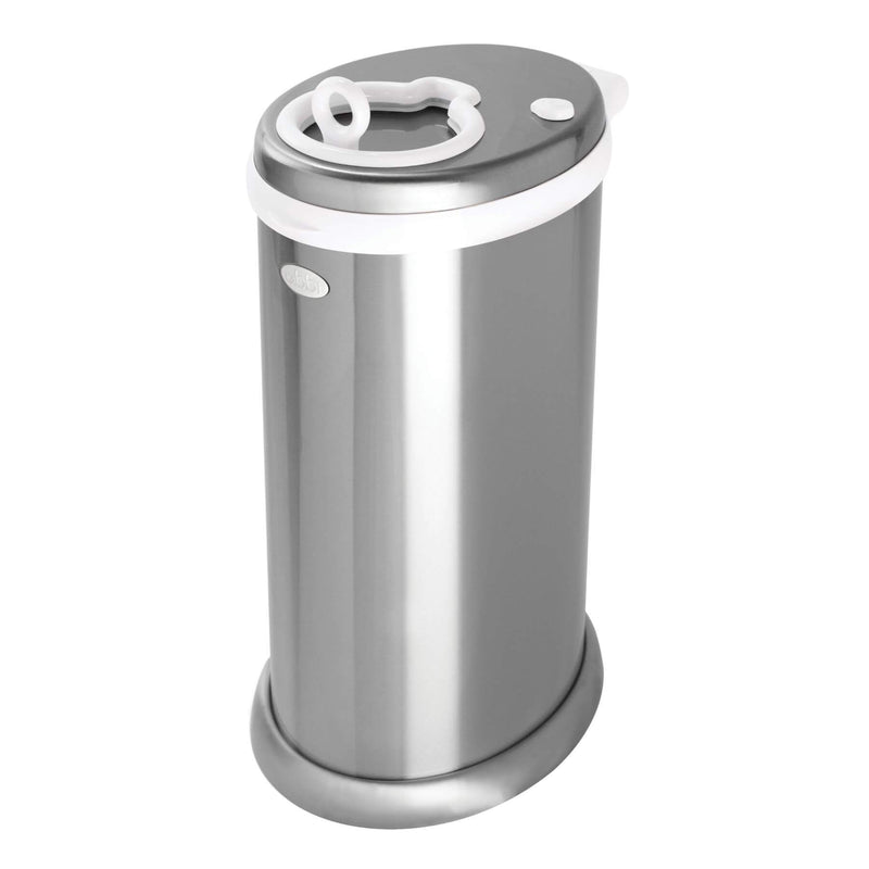 Ubbi Diaper Pail - Chrome