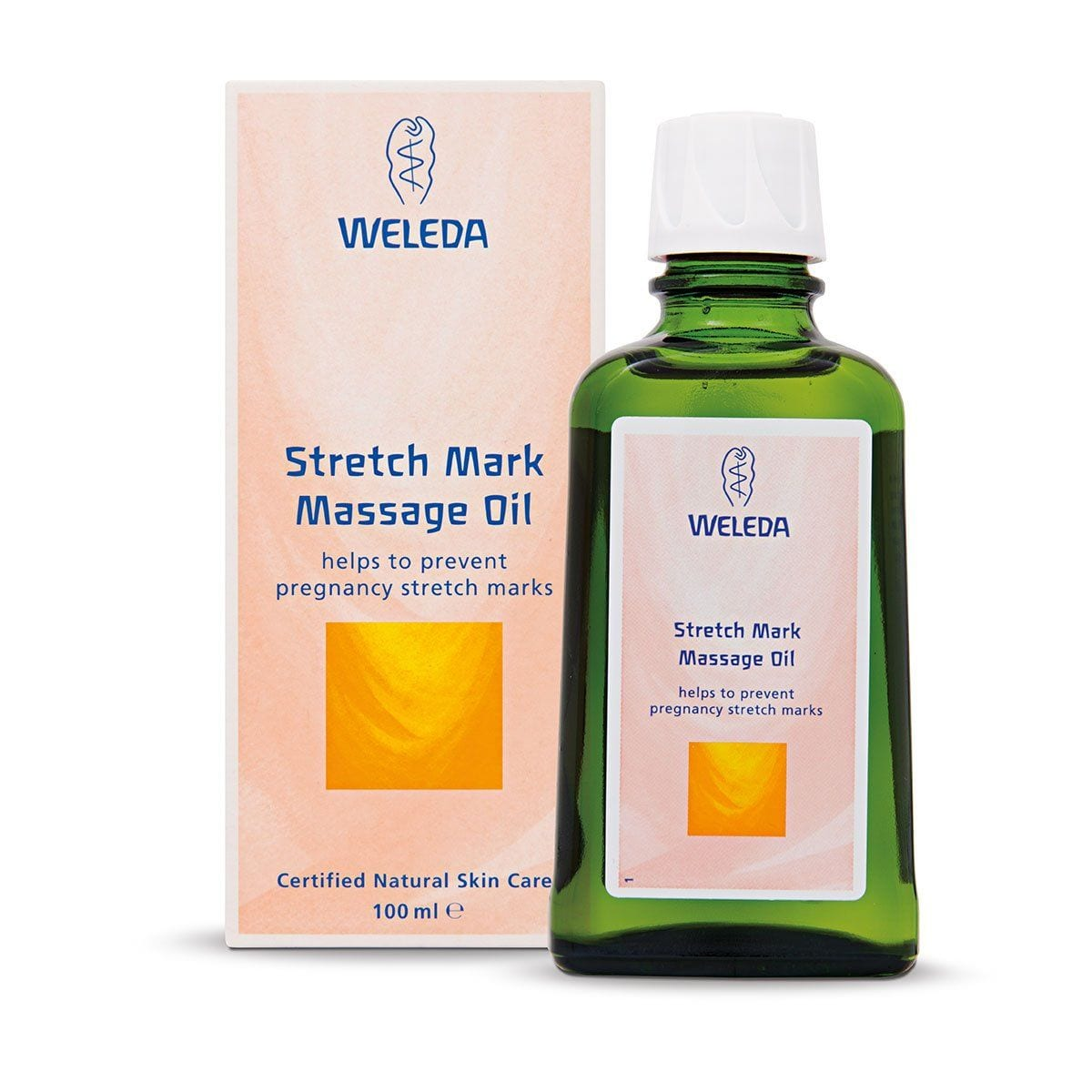 Weleda Stretch Mark Massage Oil - huggle