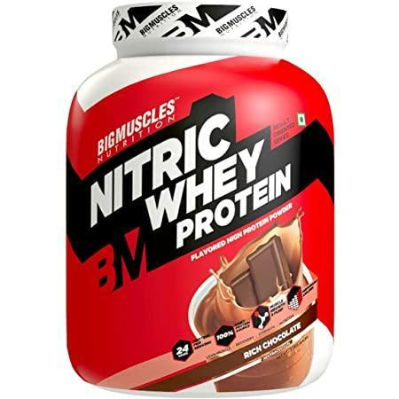 Big Muscles Nitric Whey - 2 kg (Rich Chocolate)
