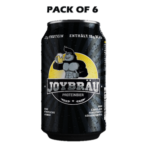 JOYBRAU Protein Beer 330ml (Pack Of 6) - The Muscle Kart.com