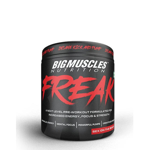 Big Muscles Nutrition Freak 30 Servings - The Muscle Kart.com