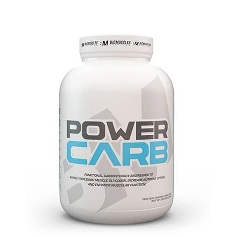 Big Muscles Nutrition Power Carb 6lbs - The Muscle Kart.com
