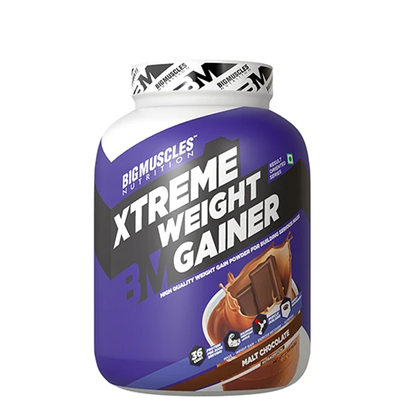 Big Muscles Nutrition Xtreme Weight Gainer 6lbs - The Muscle Kart.com