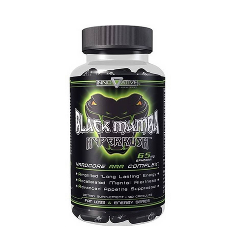 Innovative Black Mamba 90 Capsules - The Muscle Kart.com