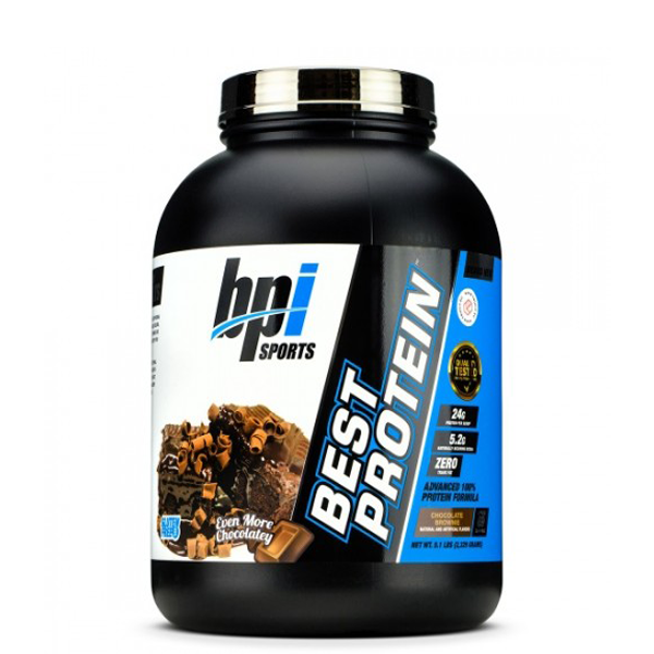 BPI Sports Best Protein 5 lb Chocolate Brownie - The Muscle Kart.com