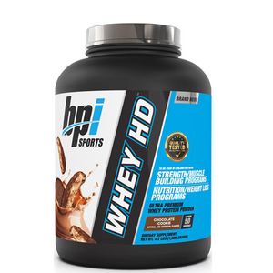 BPI Sports Whey HD 4.2 lbs - The Muscle Kart.com