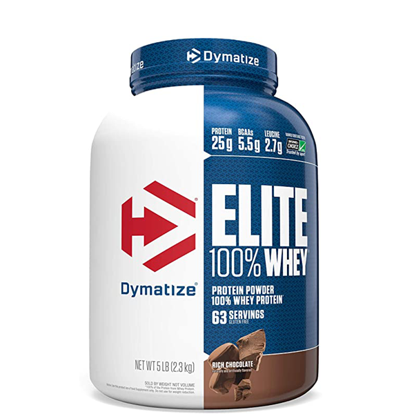 Dymatize Elite 100% Whey Protein, 5 lbs - The Muscle Kart.com